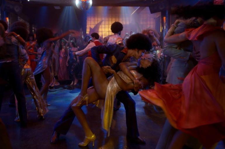 """Ezekiel et Mylene dans une soirée de """"The Get Down"""""""