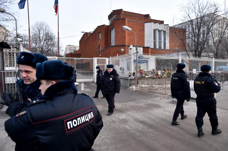 Des membres de la police russe (illustration)