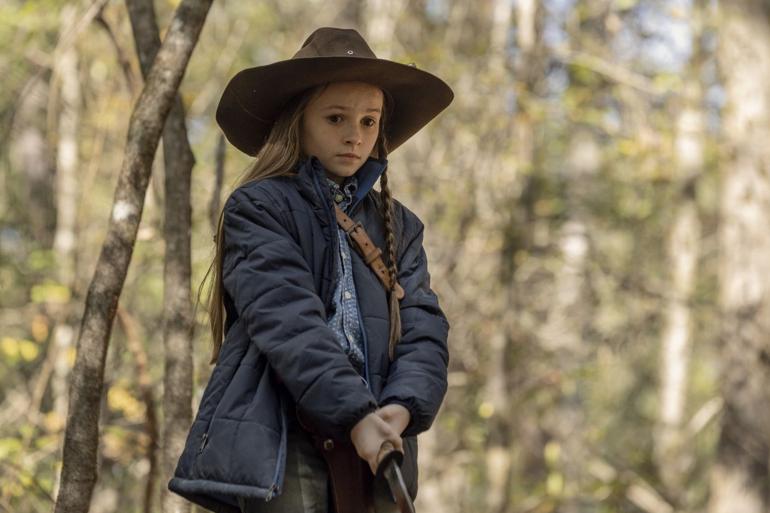 """Judith Grimes dans l'épisode 15 de """"The Walking Dead"""""""