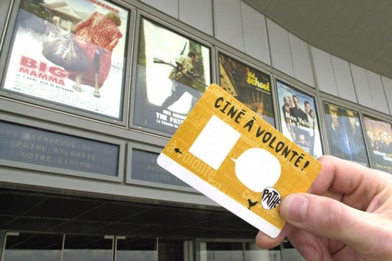 Carte d'abonnement aux cinémas Pathé-Gaumont