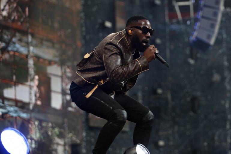 Le chanteur Vegedream en concert au Stade de France en 2019
