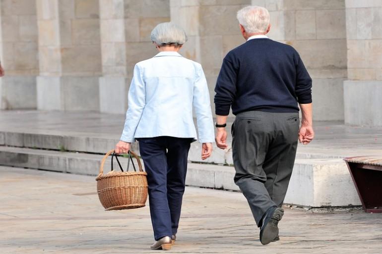 Un couple de retraités (illustration)