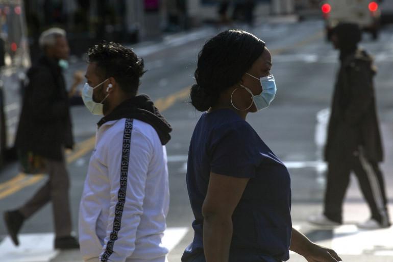 Aux États-Unis, les Américains noirs sont le plus durement touchés par l'épidémie de coronavirus.
