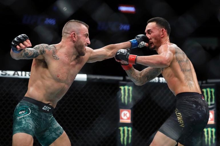 Un combat de MMA, à Las Vegas, en décembre 2019