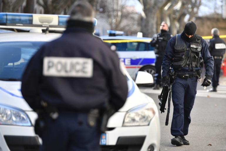 Des forces de police françaises (Illustration).