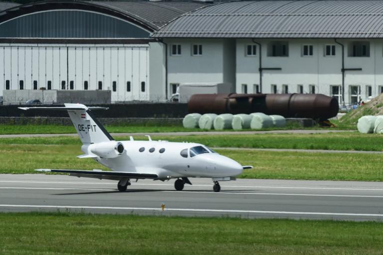 Un Jet privé (Illustration)