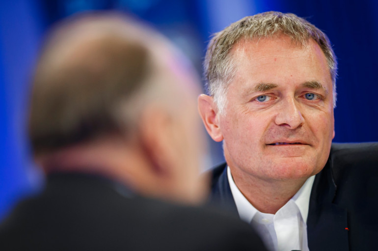 Le chef des urgences de l'hôpital européen Pompidou Philippe Juvin.
