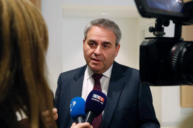 Xavier Bertrand, le 5 février 2020, à Paris