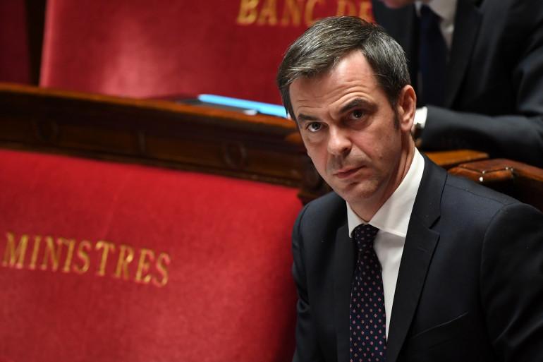 Olivier Véran, le 7 avril 2020, à l'Assemblée nationale