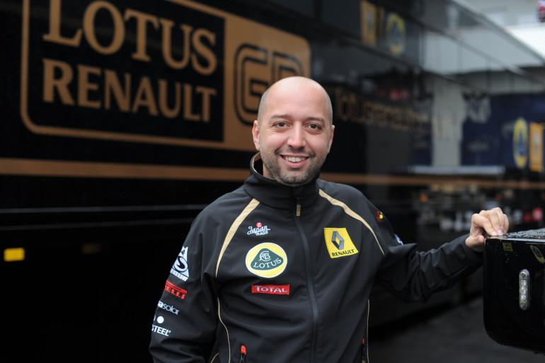 Le Luxembourgeois Gérard Lopez, alors propriétaire de l'écurie de F1 Lotus, en juillet 2011