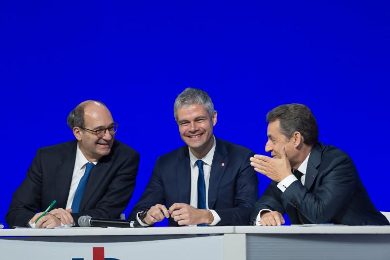Éric Woerth, Laurent Wauquiez et Nicolas Sarkozy
