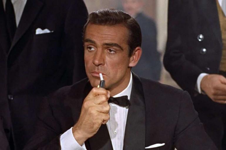 """Sean Connery dans """"James Bond et le Dr No"""""""