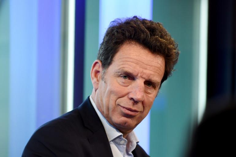 Geoffroy Roux de Bézieux, le président du Medef, à Paris le 18 avril 2019