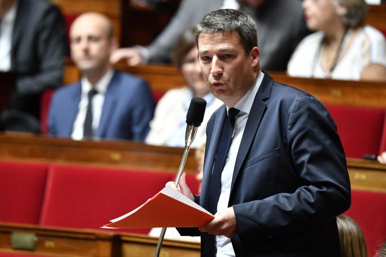 Le député Gaël Le Bohec, à l'Assemblée le 27 juin 2018