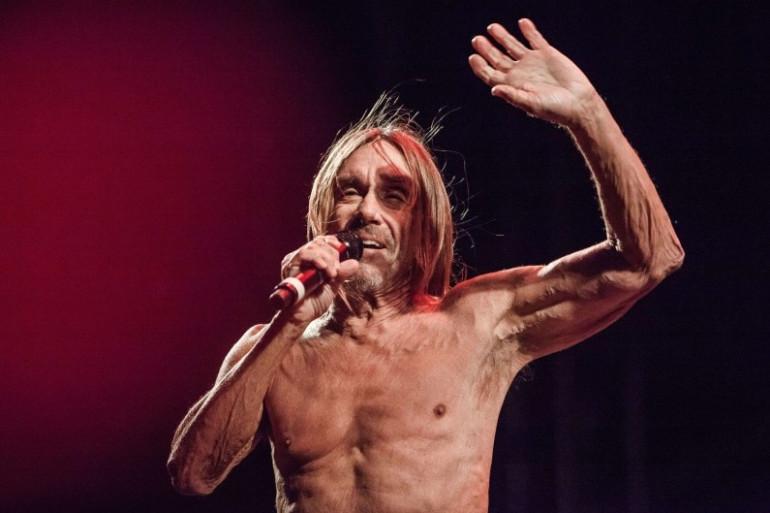 Iggy Pop est l'une des têtes d'affiche de Rock en Seine 2016