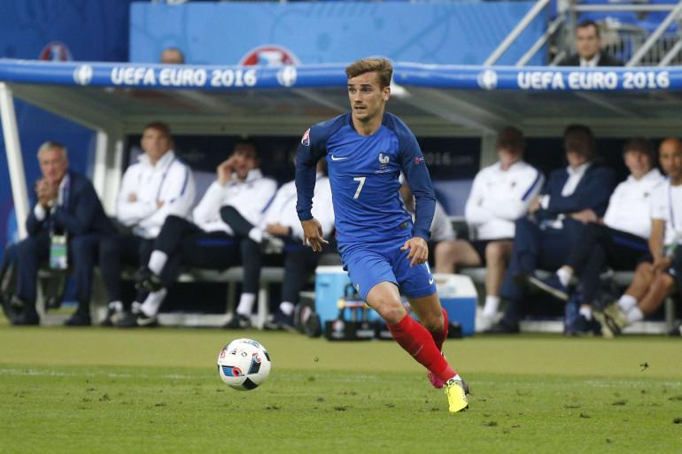 Antoine Griezmann lors de l'Euro en France en juillet 2016
