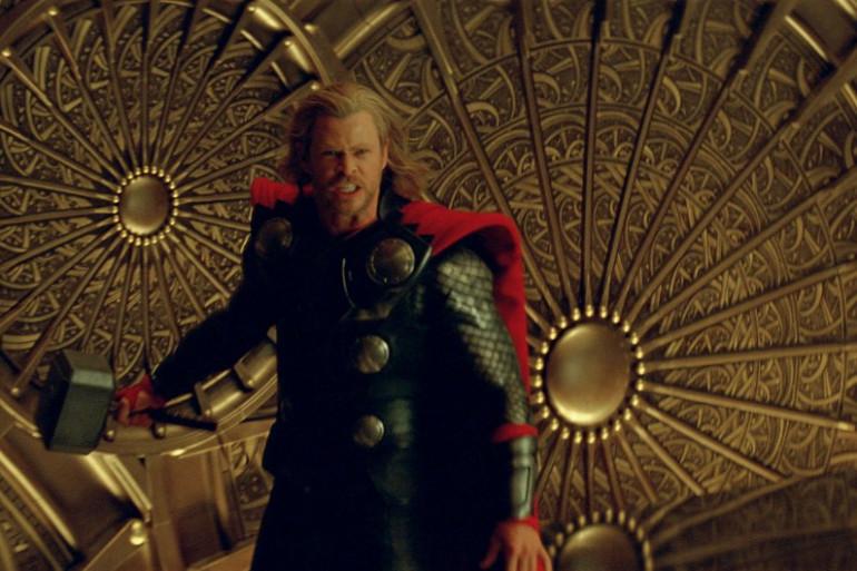 Chris Hemsworth dans le rôle de Thor