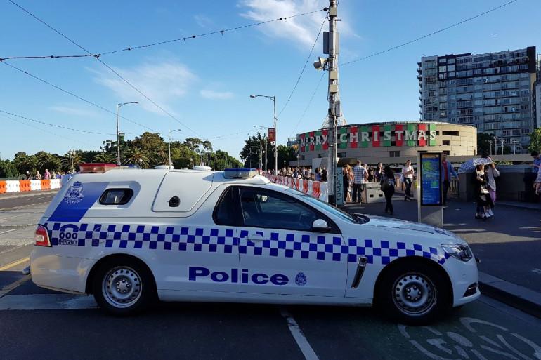 Une voiture de la police australienne (Illustration).