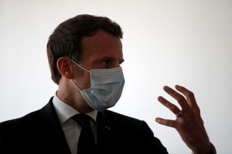 Emmanuel Macron, le 7 avril 2020