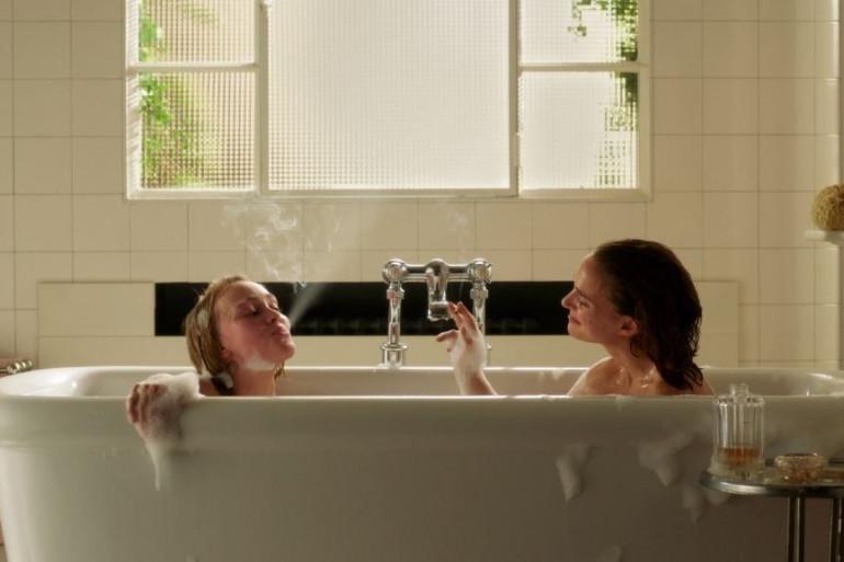 """Natalie Portman et Lily-Rose Depp dans """"Planétarium"""""""