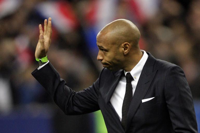 Thierry Henry en mars 2015 au Stade de France