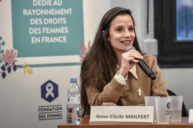 Anne-Cécile Mailfert, présidente de la Fondation des Femmes le 3 mars 2020.