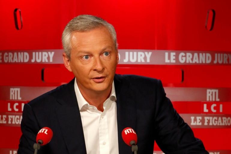 Bruno Le Maire au Grand Jury