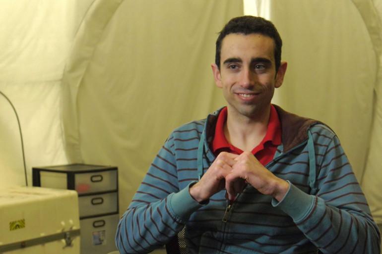 Le Français Cyprien Verseux, exobiologiste, a participé à l'exercice de simulation de vie sur Mars