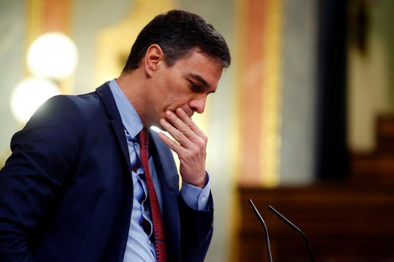 Le Premier ministre espagnol, Pedro Sanchez, le 9 avril 2020.