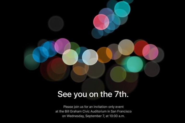 Apple donne rendez-vous à la presse le 7 septembre pour sa prochaine keynote