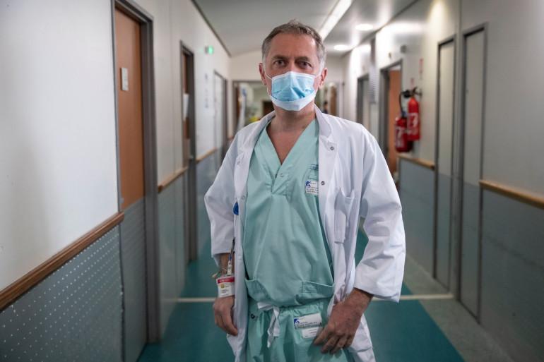 Philippe Juvin, chef des urgences de l'hôpital Georges Pompidou