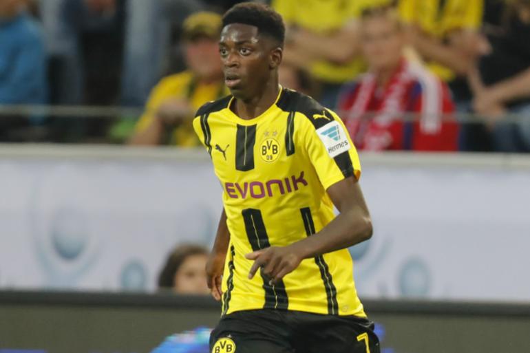 Ousmane Dembélé, l'un des espoirs du football français