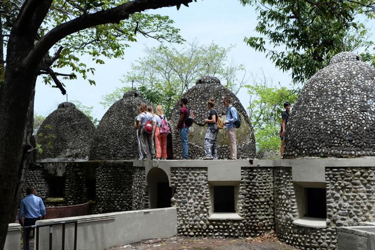 Le Ashram où les Beatles ont effectué leur retraite spirituelle en 1968 à Rishikesh, dans l'État d'Uttarakhand en Inde (illustration)