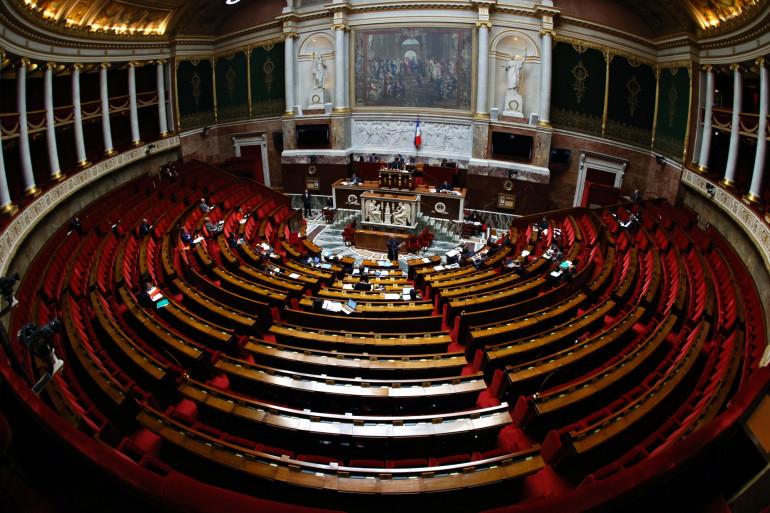 L'Assemblée nationale, le 17 avril 2020