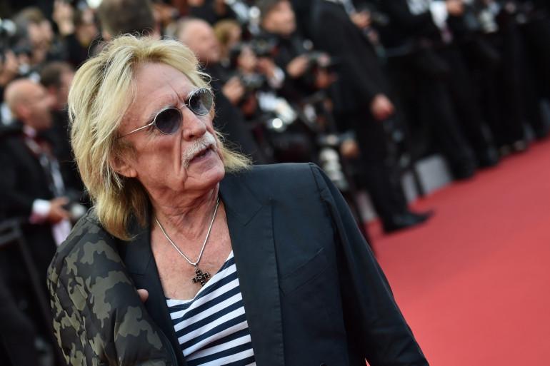 Le chanteur Christophe, de son vrai nom Daniel Bevilacqua, le 13 mai 2015 à Cannes
