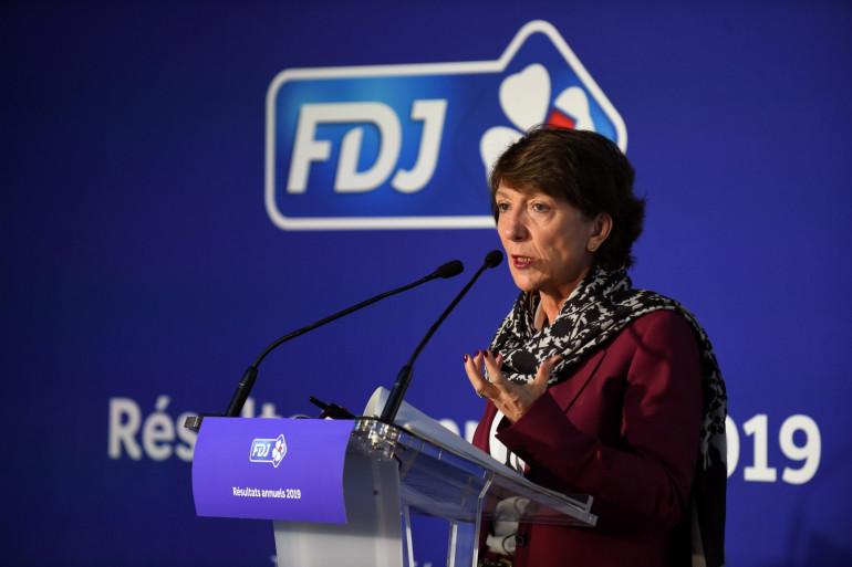 La directrice de la Française des jeux Stéphane Pallez à Paris le 13 février 2020
