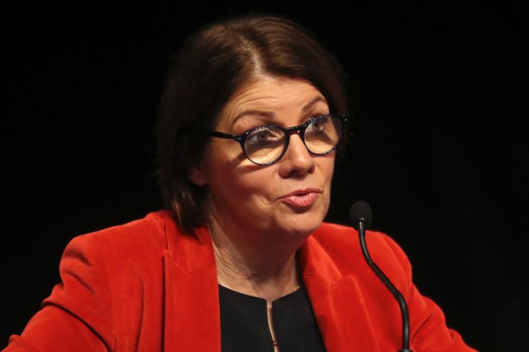 La maire de Morlaix et porte-parole de l'AMF Agnès Le Brun