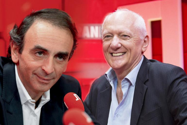 Éric Zemmour et Nicolas Domenach