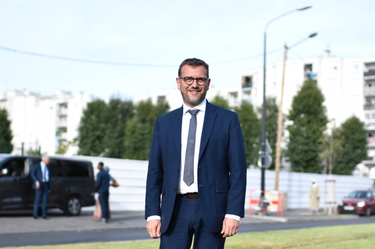 Olivier Klein, maire de Clichy-sous-bois