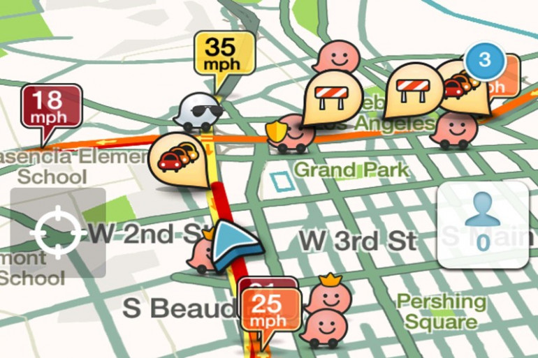 Couplé à l'application Waze, Carpool va faire de la concurrence à Uber