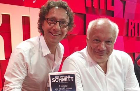 Stéphane Bern et Eric-Emmanuel Schmitt