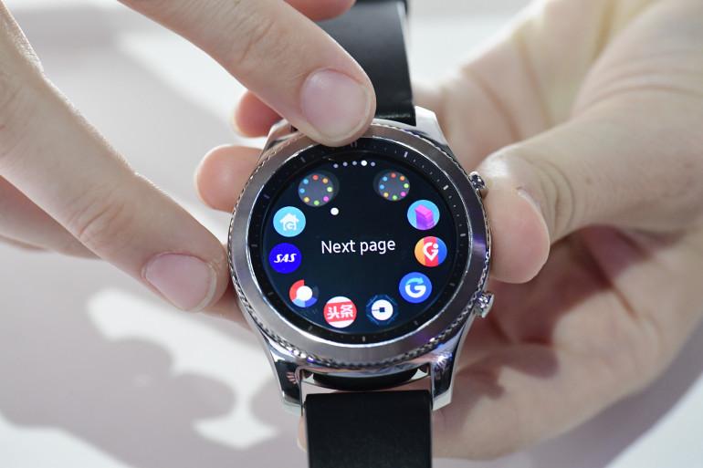 Samsung a présenté la montre connectée Gear S3 à l'IFA de Berlin