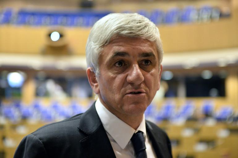 Le président de la région Normandie, Hervé Morin
