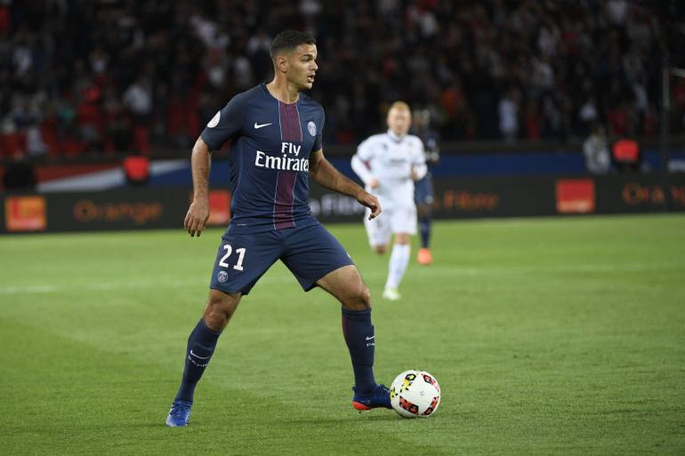 Hatem Ben Arfa sous les couleurs du PSG en août 2016