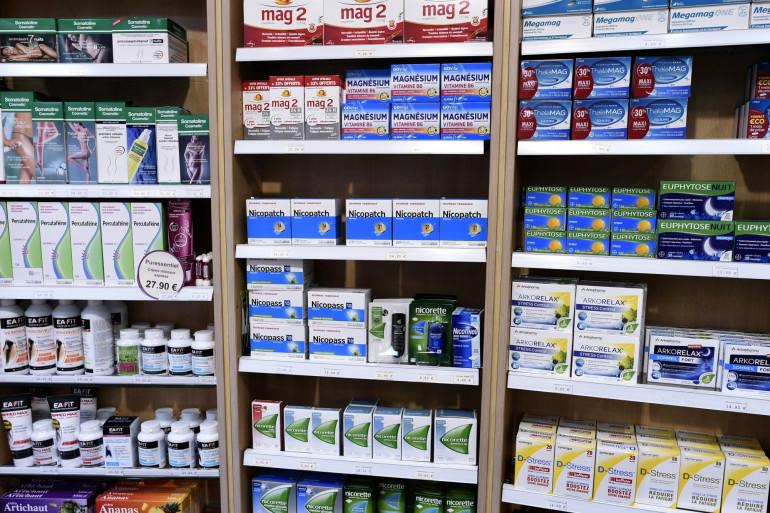 Des produits à base de nicotine vendus en pharmacie (illustration).