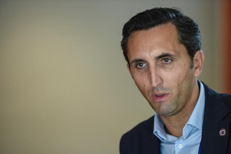 Le député du Vaucluse Julien Aubert en septembre 2019