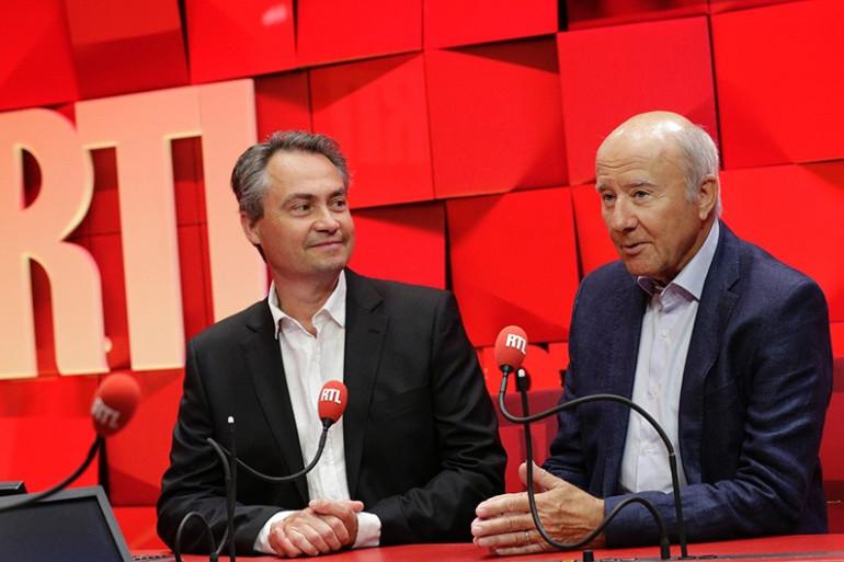 Philippe Robuchon et Olivier Mazerolle