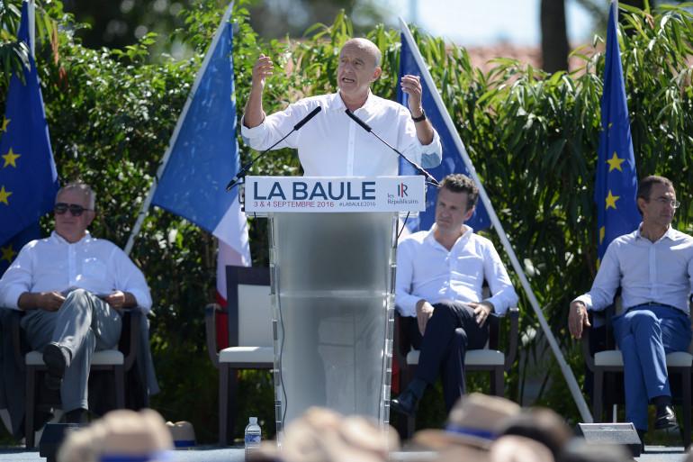 Alain Juppé, à La Baule lors de l'université d'été Les Républicains