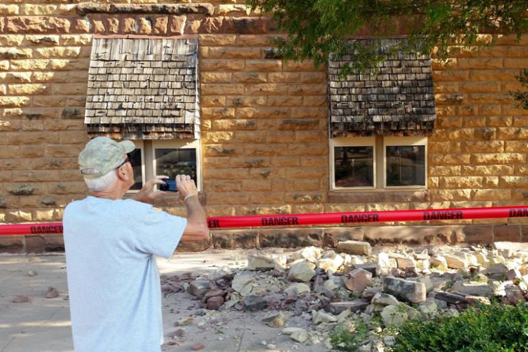 Le 3 septembre 2016, un séisme de magnitude 5,6 sur l'échelle de Richter a secoué Pawnee en Oklahoma, sans faire de blessés