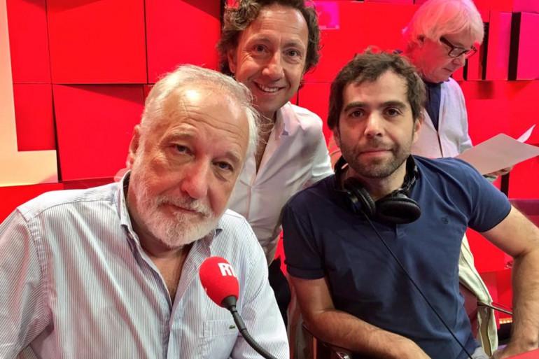 Stéphane Bern, François Berléand et Sébastien Castro